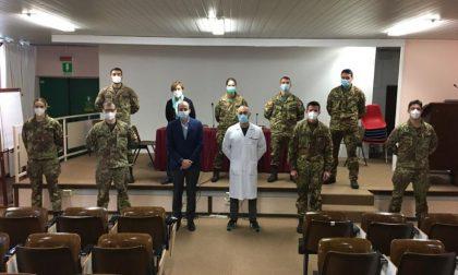 Covid, da lunedì operativi medici e infermieri dell'esercito