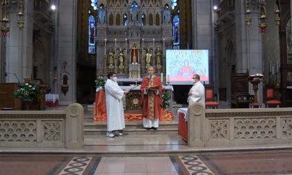 Le cresime delle parrocchie di Lissone trasmesse in diretta streaming
