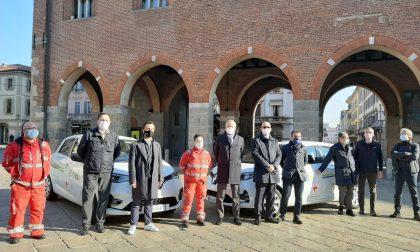 Auto elettriche in sharing a disposizione di Croce Rossa Italiana