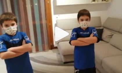 I gemelli dell'Equipe di Cesano battono il virus e sfidano Ibrahimović VIDEO