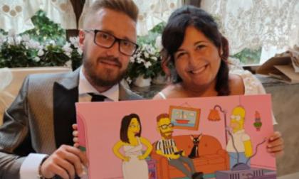 """Il """"sì"""" di Valeria ed Emanuele insegna che l'amore batte la paura"""