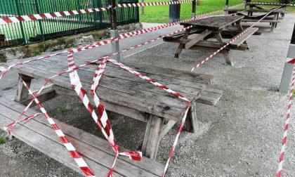 Rischio Covid: chiuso il chiosco nel parco di Seregno FOTO