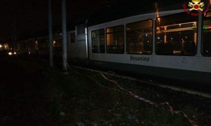 Paura, 20 persone chiuse in un treno, arrivano i Vigili del fuoco
