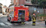 Incendio in appartamento, due persone ustionate