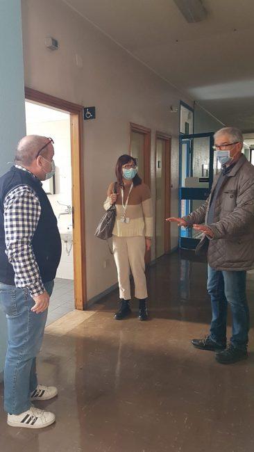 Cesano Maderno, il sindaco Maurilio Longhin in visita ai locali dell'Usca