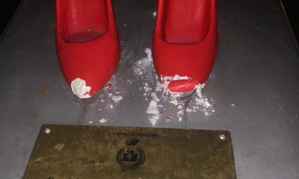 Sfregiate le scarpette rosse contro la violenza sulle donne