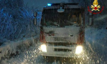 Neve: oltre cinquanta interventi dei Vigili del fuoco FOTO