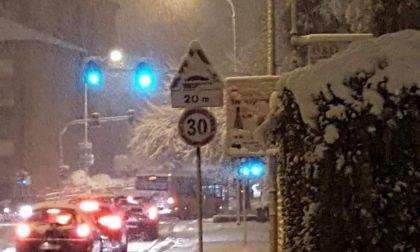 """Traffico difficoltoso a Monza, il Comune specifica: """"Molte auto senza gomme da neve e catene"""""""