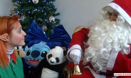 Con la Croce rossa Babbo Natale arriva sotto casa