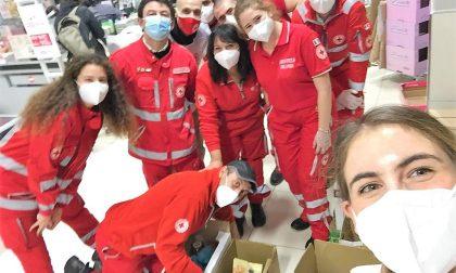 Donate alla Croce Rossa tre tonnellate di alimenti per le persone bisognose