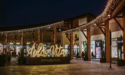 Shopping natalizio: nuove aperture e tante luci al Franciacorta Village