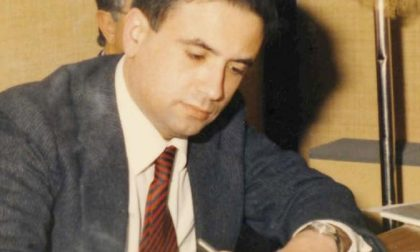 Una strada per il magistrato ucciso dalla mafia – FOTO