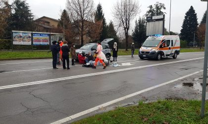 Villasanta: incidente tra un'auto e uno scooter