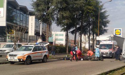 Moto a terra, 72enne finisce in ospedale FOTOGALLERY