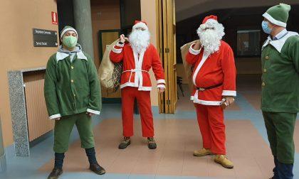 Babbo Natale in visita ai bambini di Correzzana
