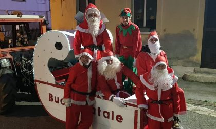 Banda dei Babbi Natale: il Covid non ferma la consegna dei regali a Briosco