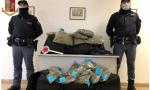 La Polizia di Stato arresta un 36enne con 80 chili di marijuana FOTO