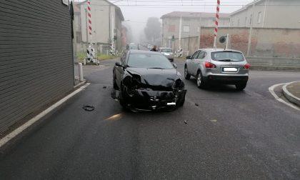 Meda, ennesimo incidente all'incrocio del Cassina
