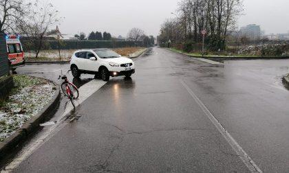 Incidente a Meda, un ciclista finisce in ospedale