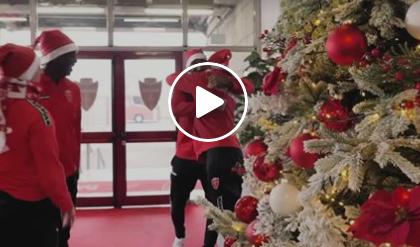 Biancorosso, il colore del Natale e del Calcio Monza: ecco i loro auguri VIDEO