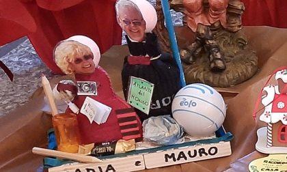 """""""A Natale facciamo assembramento"""", le famiglie entrano nel presepe di San Giorgio"""