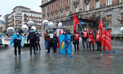 Sciopero dei dipendenti della pubblica amministrazione: presidio in piazza Trento e Trieste