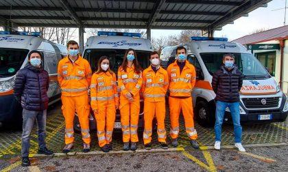 Nuovi soccorritori nella Croce bianca di Giussano