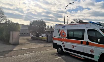 Caduta in un impianto lavorativo a Seregno, soccorso un 44enne
