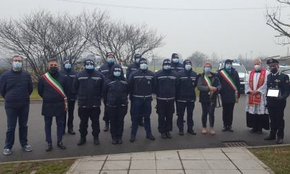 San Sebastiano, encomio agli agenti del corpo di Polizia locale Brianza Est