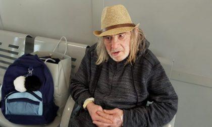 Addio al clochard Galbusera, spirito errante della Brianza