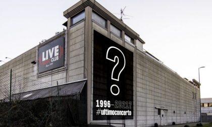 #Ultimoconcerto al Live club di Trezzo?