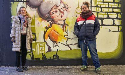 Sottopasso a Seregno: la riqualificazione passa dalla Street Art di Cristian Sonda