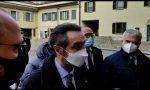 """Fontana in visita a Concorezzo: """"Lombardia zona rossa, punizione che non meritiamo"""" – VIDEO"""