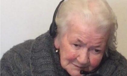 """Tanti auguri nonna Camilla """"ades in cent"""""""