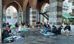 Sit-in degli studenti delle superiori per un rientro a scuola in sicurezza