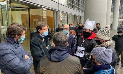 """Corteo dei ristoratori in protesta. Corbetta """"Piena solidarietà con categoria fra le più colpite dalle norme anti covid"""""""