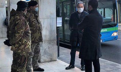 Militari per la sicurezza a scuola