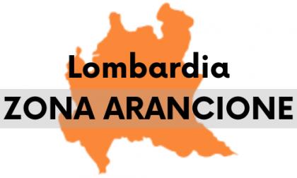 Lombardia in zona arancione da lunedì 12 aprile