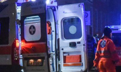Ribaltamento a Giussano: ferito un 71enne