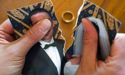 Boom di divorzi dopo il lockdown a Villasanta: richieste di separazione aumentate del 100%