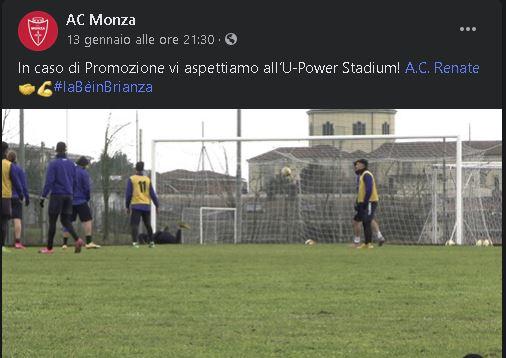 Renate Monza calcio