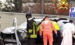 Scontro tra un Tir e un'auto a Lissone: pompieri estraggono dalle lamiere un 48enne