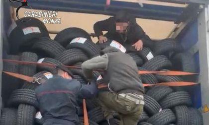 Caponago: i tre minorenni afgani trovati sul Tir sono scappati