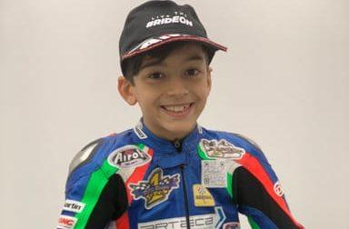 Il baby pilota di Cesano entra nel team dei Talenti Azzurri