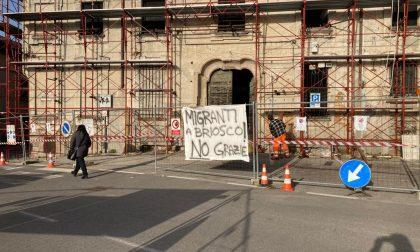 Migranti a Briosco: inizia la protesta