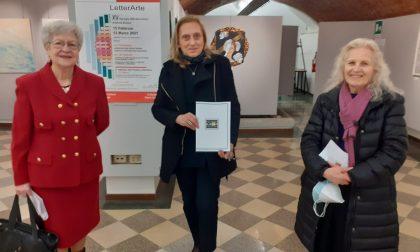 Colori e poesia in Galleria civica con Letterarte