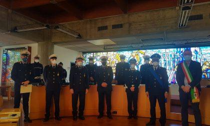 Giussano, agenti  della Polizia locale premiati