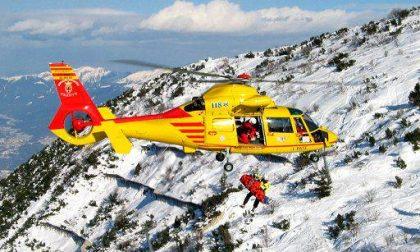 Incidente in montagna: soccorso alpino in azione per un brianzolo