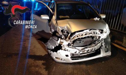 Ubriaco, si schianta con l'auto della madre. Arrestato dai Carabinieri