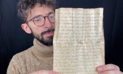 Dalla sedia di un secolo fa spunta... una lettera d'amore